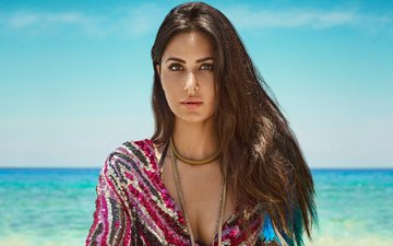 the sky, girl, sea, model, hair, face, actress, makeup, beautiful, katrina kaif