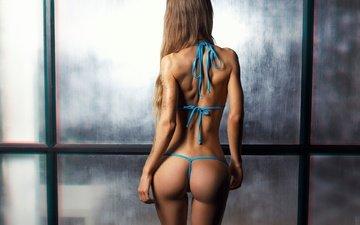 жопа, сзади, бикини, брюнет, tattoos, ura pechen, sveta grashchenkova
