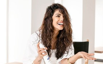 girl, smile, model, lips, face, actress, makeup, indian, priyanka chopra