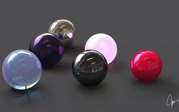 balls, 3d