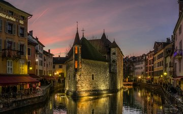 the city, palace, france, museum, annecy