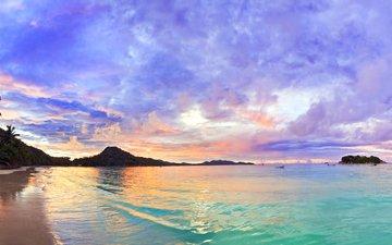 sea, beach, tropics, 5