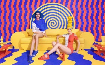 style, color, girls, sagmeister & walsh, of vibrant, polychrome