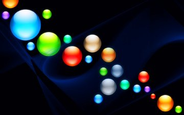 light, background, color, ball, round