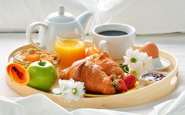 утро, завтрак
