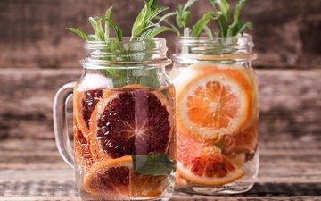 напиток, апельсин, цитрус, лимонад