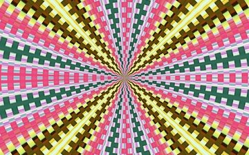 color, background, pattern, graphics, the tunnel, illusion, hallucination