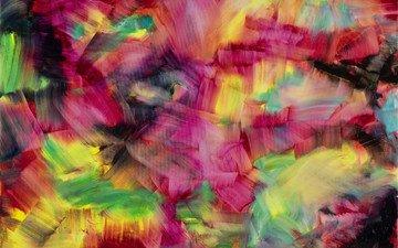 обои, текстуры, разноцветные, цвет, краска, абстракции, холст, пастель, 3d графика, оригинал, авторский дизайн, herbert brandl