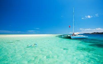 sea, beach, yacht, 7