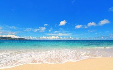 sea, beach, 10