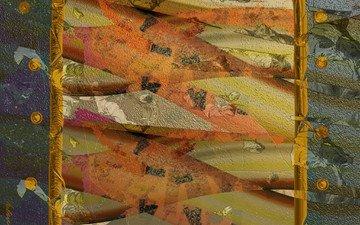 wallpaper, texture, abstraction, modern, 3d graphics, original, architectural design, helene goldberg, mobile gadgets