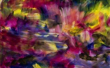 wallpaper, texture, color, paint, abstraction, canvas, pastel, 3d graphics, original, architectural design, herbert brandl