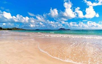 landscape, sea, beach
