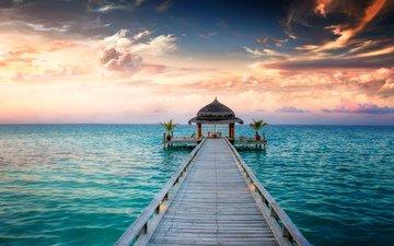 sea, tropics, the maldives, 14