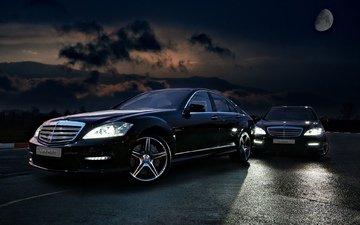 asphalt, drives, lights, 2011, mercedes, vilner, s class