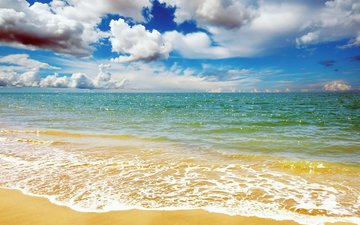 landscape, sea, beach, 6