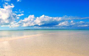 sea, beach, 4