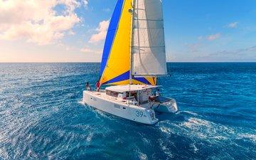 sea, yacht