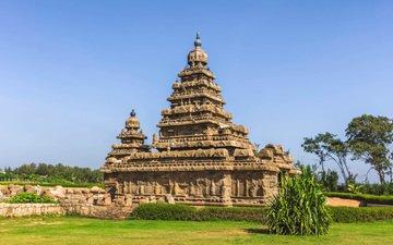 temple, india, mahabalipuram, mamallapuram