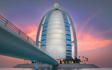 bridge, the hotel, dubai, uae, burj al arab, bjorn moerman, bridge burj