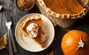 cakes, dessert, pie, pumpkin, cake