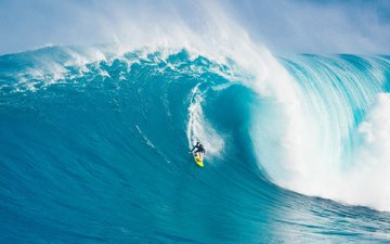 mood, sea, wave, surfing, hawaii