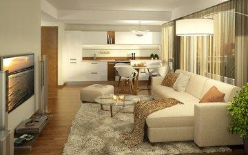 design, room, furniture, living room