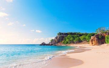 sea, beach, 5