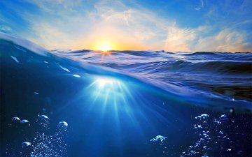 the sun, sea