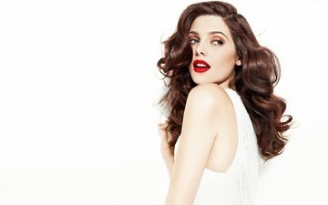 girl, look, hair, face, actress, makeup, ashley greene, model.