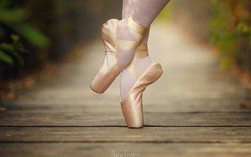 девушка, фото, балет, пуанты
