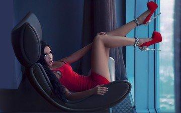 girl, legs, 29, window