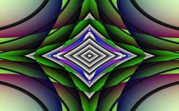 design, color, geometry, symmetry, 3d graphics