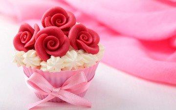сладкое, десерт, пирожное, кекс, маффин, крем, desert-keksy-pirozhnoe-3473