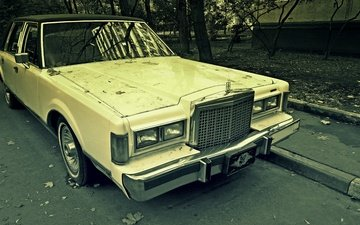 style, america, machine, parking, radiator, lights, bumper, retroavto, milk jackson