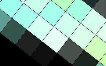 linie, schwarz, material, geometrie, modern, türkise