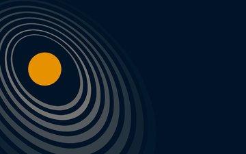 абстракция, фон, круги