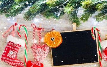 новый год, елка, подарки, рождество, носок
