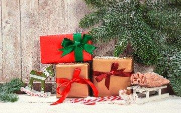 новый год, елка, подарки, рождество