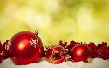 новый год, шары, украшения, рождество