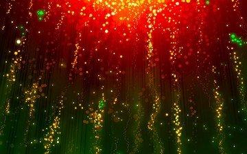 свет, арт, абстракция, фон, свечение, графика, фейерверк