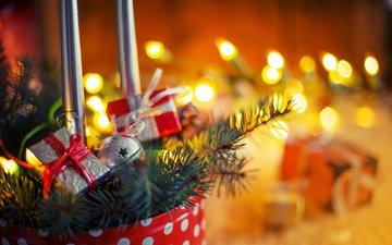 новый год, рождество, декор