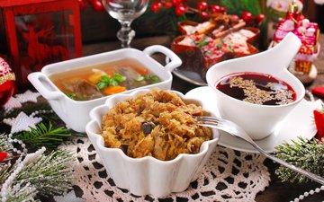 грибы, борщ, суп, teresa kasprzycka, квашеная капуста, заливная рыба