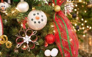 новый год, елка, украшения, рождество, елочные украшения