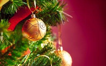 новый год, елка, шары, рождество, елочные игрушки, eye-d studio