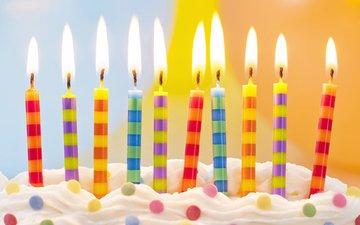 свечи, сладкое, день рождения, торт, десерт, elena schweitzer, день рожения