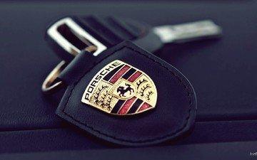 background, key, keychain, porsche