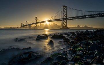 мост, сша, сан-франциско, золотые ворота