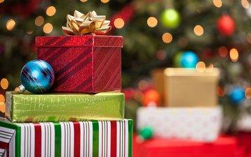 новый год, подарки, рождество