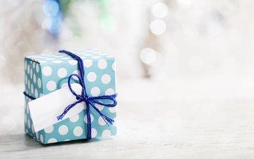 новый год, подарок, рождество, коробка